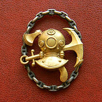 Знак ЭПРОН, образца 1923 г.  цепь - серебро