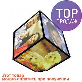 Фоторамка куб вращающийся / аксессуары для дома