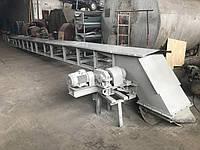 Ленточный без роликовый транспортер Волокуша 100 тонн 4м