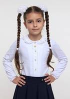 Блуза школьная нарядная ТМ СМИЛ