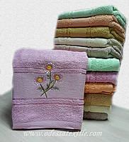 Полотенце банное Ромашка розовая