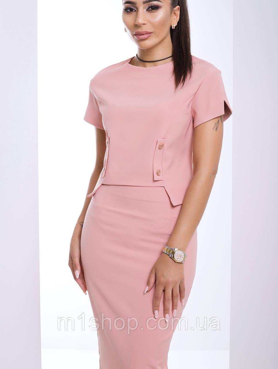 Женский костюм юбка и блузка (Амели lzn)