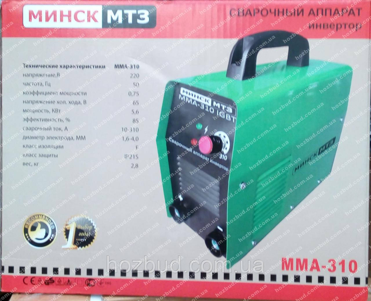 Сварочный инвертор Минск ММА-310