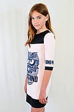 Детское подростковое модное красивое платье cо стразиками, фото 2