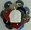 Шапка вязаная на флисе женская м 7052,марс,  разные цвета, фото 4