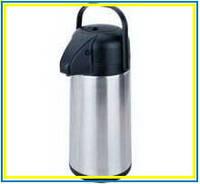 Помповый термос для холодной воды WX-400 на 4литра