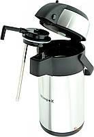 Термос с помпой для холодной воды WX-500 на 5литра
