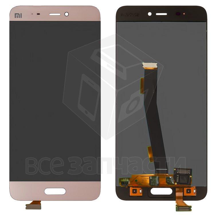 Xiaomi Mi5  Дисплейный модуль для мобильного телефона розовый, золотис