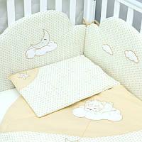 """Комплект сменной постели для новорожденного   """"Sleepyhead"""" Верес™ бежевый"""