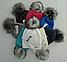 Шапка молодежная зимняя с бубоном м 7054, разные цвета, фото 4