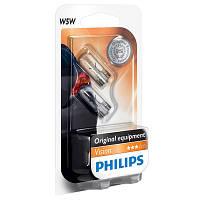 Автолампа Philips Vision 12961 W5W-02B 12В/5W 2 шт