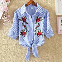 Женская блузка с вышивкой СС7774