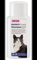 Beaphar IMMO Shield для котов - противопаразитарный шампунь с силиконовым маслом 200мл (14178)