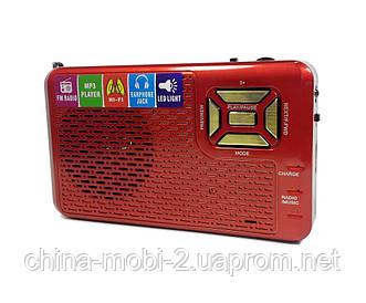 Радиоприемник FM, Golon RX-992, MP3 проигрыватель, LED фонарик (992), red