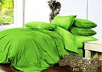 Евро комплект постельного белья из поплина Р01