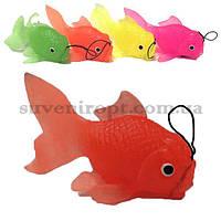 Рыба большая резиновая  13 см (10)