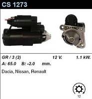 Стартер /1.1 кВт 12z/ Renault Logan, Kubistar, Clio2, Kangoo 1.5 DCI