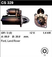 Стартер /1.4кВт z10/ Ford Sierra, Scopio 1.6-1.8-2.0i