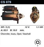 Стартер /1,1кВт z9/ Daewoo Nubira, Lacetti, Opel Astra F/G, Vectra A/B, OmegaB 1,8-2,0-2,2 16V