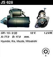 Стартер /1,2кВт z8/ Hyundai Sonata I-II, Mitsubishi Galant V 1,8-2,0