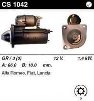 Стартер восст. /1,4кВт z9/ AR145-156 TS 16V, Brava, Dedra, Coupe 1,8 16V, Kappa, Marea, Coupe 2,0 20