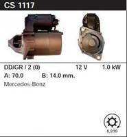 Стартер відновл. /1,1 кВт 8,9,10 z/ Mercedes A-Class 97- 1.4-2.0