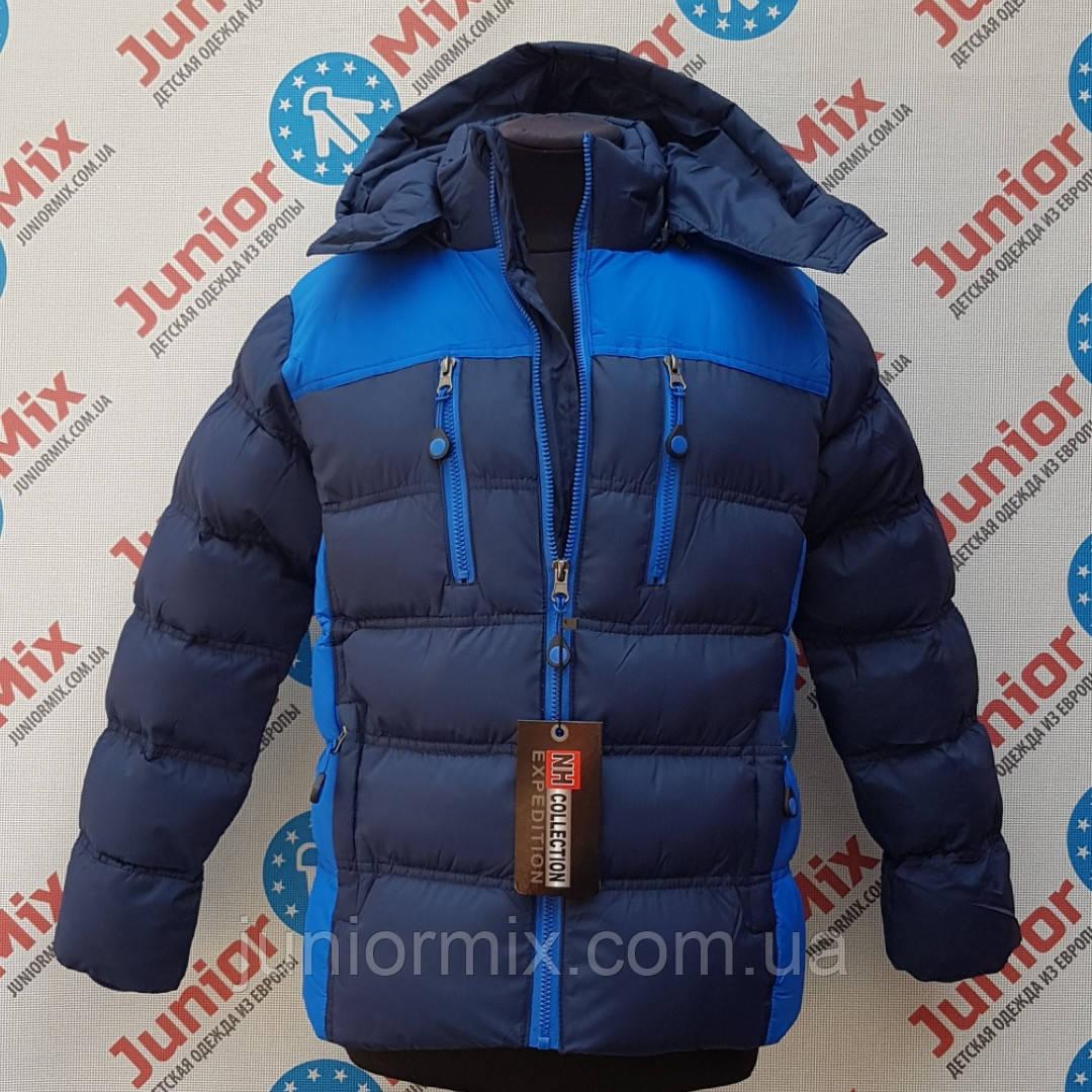 Куртка зимняя для мальчика подростковая оптом   NH COLLECTION.