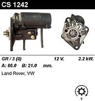 Стартер восст. /2,2кВт z9/ LandRover Defender, Discovery 2,5D 98-