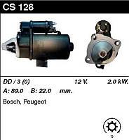 Стартер відновл. /2,0 кВт z9/ Peugeot 504 2,1-2,3-2,5 D