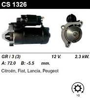 Стартер восст. /2,3кВт z10/ Citroen Peugeot 2.0-2.2HDI 02-