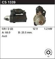 Стартер восст. /1,2кВт z10/ Audi A4, A6, A8 2.4-2.8-3.0-3.2i 05-