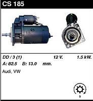 Стартер восст. /1,5кВт z9/ Audi 80 80-86, VW Passat 77-88, Santana 81-84 1,5-1,6