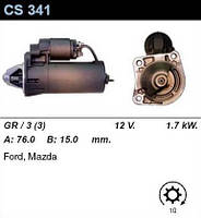 Стартер восст. /1,7кВт z10/ Ford Escort, Fiesta, Orion, Mondeo 1,6-1,8 (D,TD)