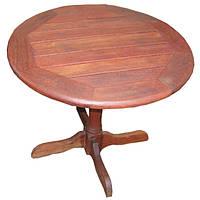 Круглый садовый стол PUB из дерева мербау Ø 90 см