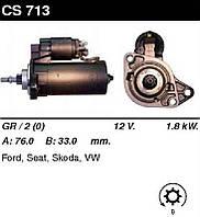 Стартер восст. /1,8кВт z9/ VW Passat 88-97 Vento 93-98, Golf III, Seat Toledo 95-99 1,6-1,9