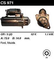 Стартер відновл. /1,1 кВт z23/ Ford Escort 92-98, Fiesta 95-02, Mazda 121 96-