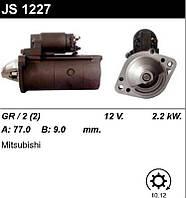Стартер восст. /2,2кВт z10/ Mitsubishi L200, Pajero Sport, 2,5D 96-