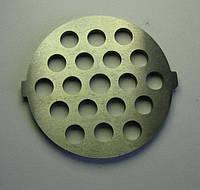 Решетка (сетка) крупная 7мм для мясорубки ORION, DELFA, DIGITAL, SATURN, VITEK, SKARLEТ(С 2-МЯ ВЫСТУПАМИ)