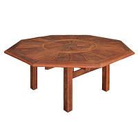 Восьмиугольный садовый стол Моретон из дерева мербау Ø 187,5 см