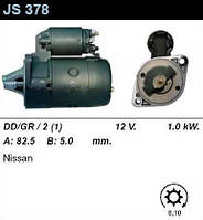 Стартер восст. /1,0кВт z8/ Nissan Bluebird 1,8-2,0