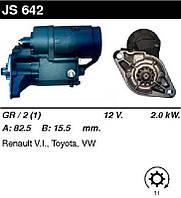 Стартер восст. /2,0кВт z11/ Toyota Hiace 79- , Land Cruiser 70 2,4D