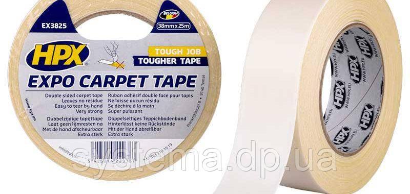 HPX Монтажная лента для зеркал  EXPO CARPET TAPE 38 mm x 25 m