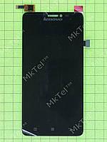 Дисплей Lenovo S850 с сенсором Оригинал элем. Черный