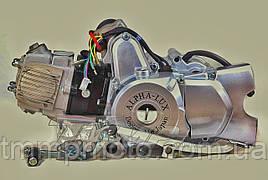 Двигатель Альфа / Дельта 110куб механика d-52.4мм АЛЬФА люкс