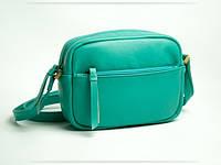Жіноча сумочка-клатч ніжного м'ятного кольору