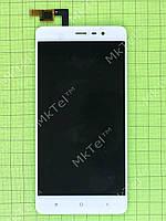 Дисплей Xiaomi Redmi Note 3 Pro Special Edition с сенсором Оригинал элем. Белый