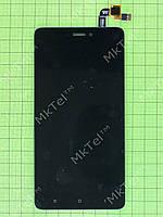 Дисплей Xiaomi Redmi Note 4X с сенсором Копия АА Черный