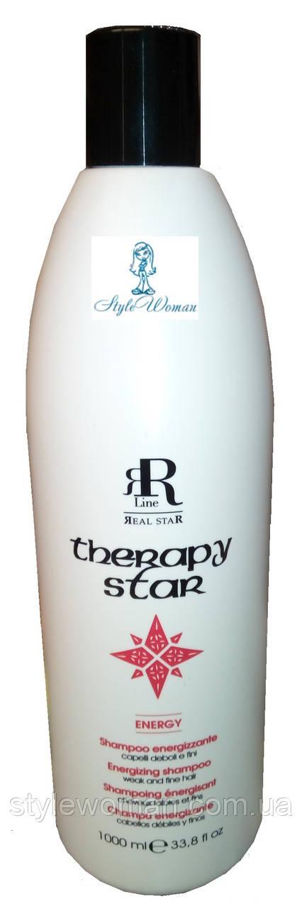 RR Line Therapy STAR Energy, Шампунь лечебный против выпадения волос 1000 мл