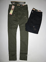 Котоновые брюки  для девочек Seagull 134-140-146-152-158-164рр