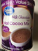 Горячий Шоколад GREAT VALUE без добавок, 1.13кг, фото 1